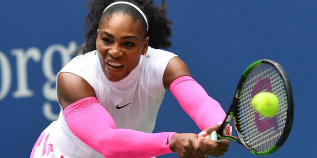 Serena Williams spielt am Montag im Achtelfinale der US Open