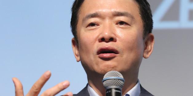 남경필 경기지사가 5일 오전 서울 중구 더플라자호텔에서 열린 미래창조한반도포럼 조찬강연에서 '대한민국 리빌딩'을 주제로 강연을 하고 있다.