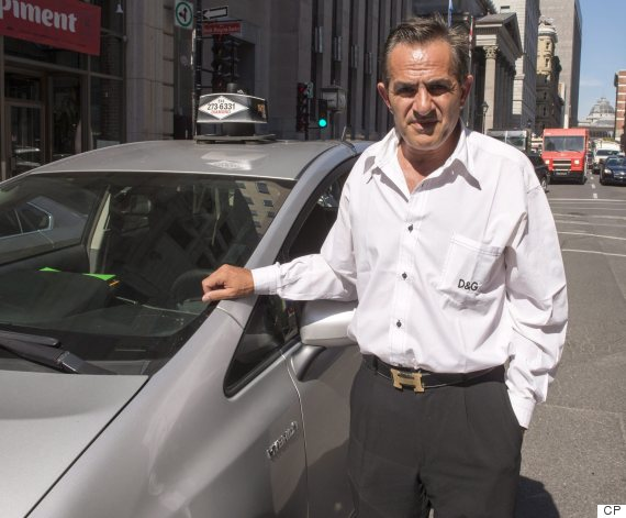 montreal taxi driver