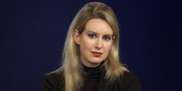 FILE PHOTO --  Elizabeth Holmes, CEO of Theranos, attends a panel discussion during the Clinton Global Initiative's annual meeting in New York, September 29, 2015.  REUTERS/Brendan McDermid/File Photo