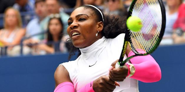 Serena Williams steht am Mittwoch im Viertelfinale der US Open in New York