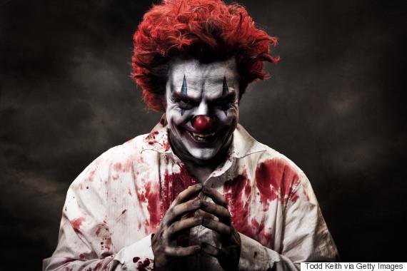 clown scary