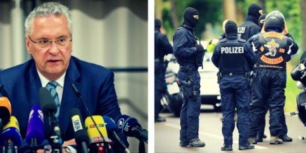 Bayerns Innenminister Herrmann warnt vor Rocker-Kriminalität