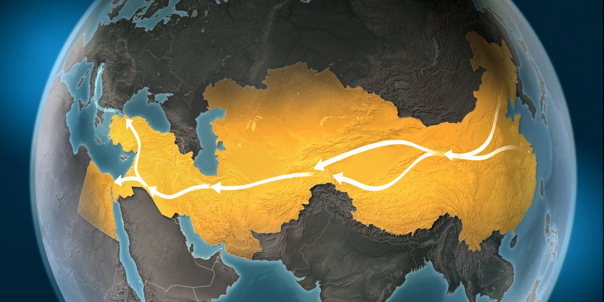 Why India Is Wary of Chinas Silk Road Initiative HuffPost