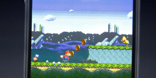 """Nintendo bringt """"Super Mario"""" auf das iPhone"""