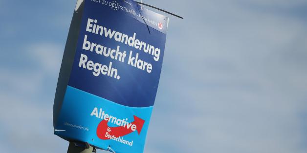 In Hannover sei jedes dritte AfD-Wahlplakat geklaut worden sein