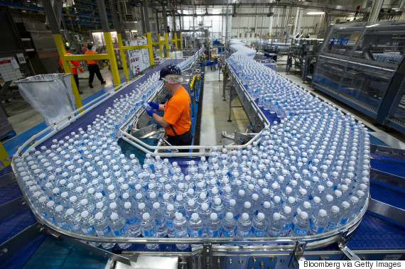 nestle water bottling