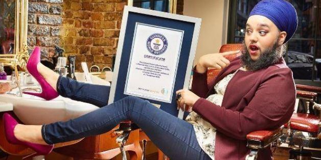 À 24 ans, Harnaam Kaur détient l'un des records les plus fous du livre Guinness des records 2017.