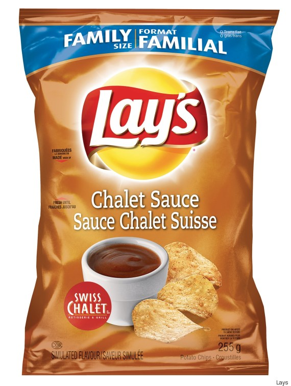 swiss chalet sauce chips