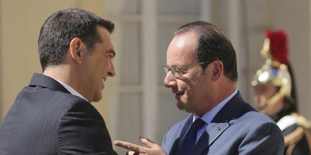 Tsipras und Hollande werden bei dem Treffen in Athen dabei sein.