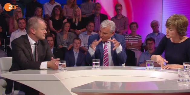 CDU-Vize Thomas Strobl stritt sich mit dem AfD-Vertreter Matthias Manthei