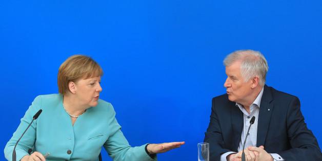 Merkel erteilt Seehofers Forderung nach einer Obergrenze eine Absage.