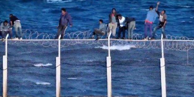 Près de 300 migrants sont entrés clandestinement à Sebta via le Maroc cet été
