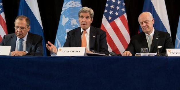 Die USA und Russland vereinbaren Waffenruhe für Syrien ab Montag.