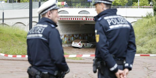 Deutsche Polizisten, Symbolbild