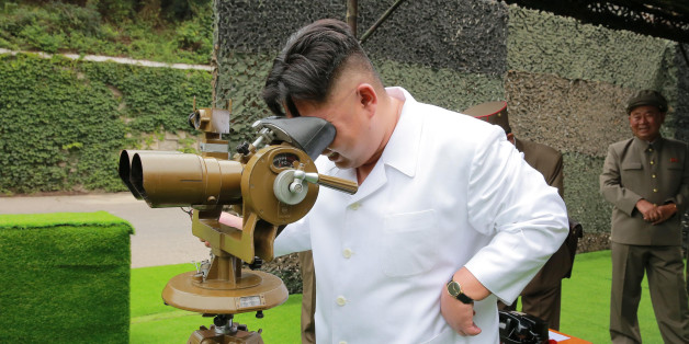 North Korean leader Kim Jong Un provides field guidance during a fire drill of ballistic rockets by Hwasong artillery units of the KPA Strategic Force, in this undated photo released by North Korea's Korean Central News Agency (KCNA) in Pyongyang September 6, 2016. KCNA/via Reuters   ATTENTION EDITORS - THIS PICTURE WAS PROVIDED BY A THIRD PARTY. REUTERS IS UNABLE TO INDEPENDENTLY VERIFY THE AUTHENTICITY, CONTENT, LOCATION OR DATE OF THIS IMAGE. FOR EDITORIAL USE ONLY. NO THIRD PARTY SALES. SOUT