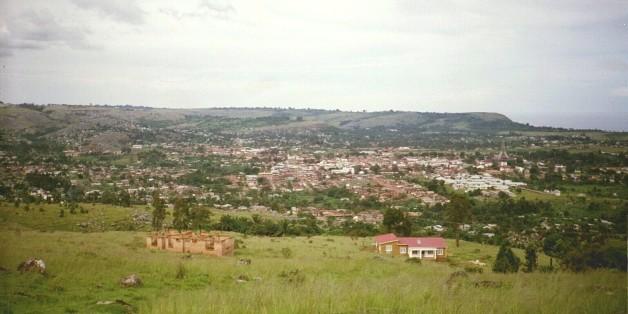 Une vue de la ville de Bukoba en Tanzanie