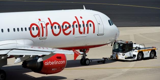 Ein Airbus von Air Berlin