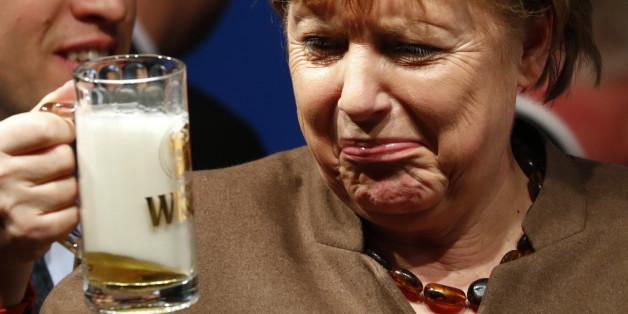 CDU un CSU verlieren in der Emnid-Umfrage an Zustimmung.
