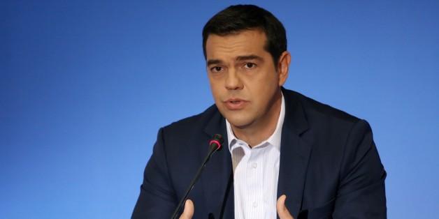 Der griechische Regierungschef Alexis Tsipras fordert weiterhin Reparationen von Deutschland