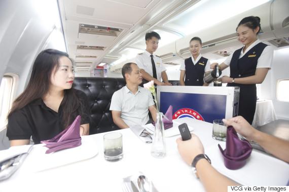airplane restaurant china