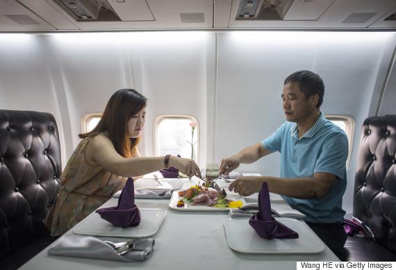 china airplane restaurant
