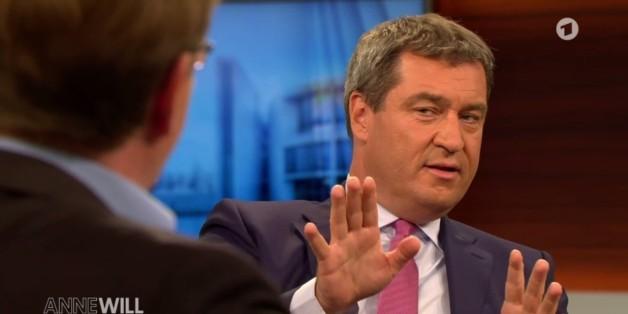 """Markus Söder bei """"Anne Will"""""""