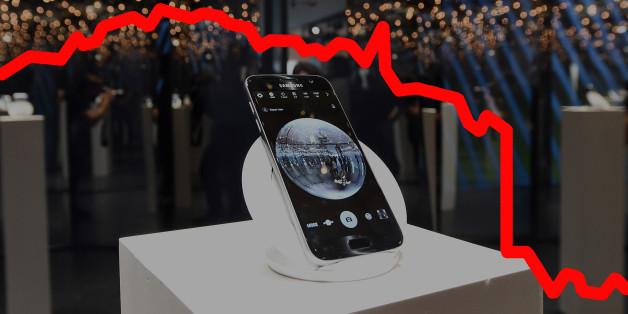 Le Galaxy Note 7 est une bombe ambulante, y compris pour le cours de bourse de Samsung