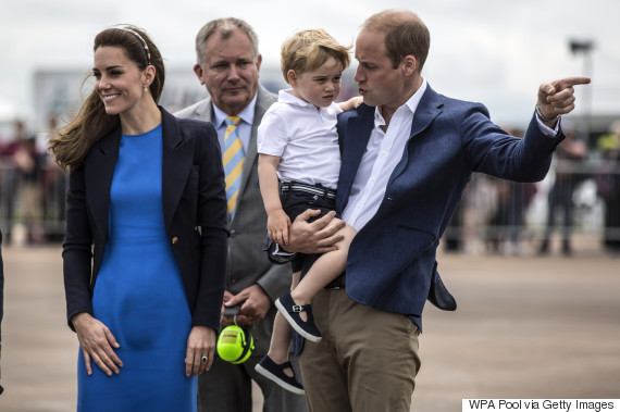 william kate george family