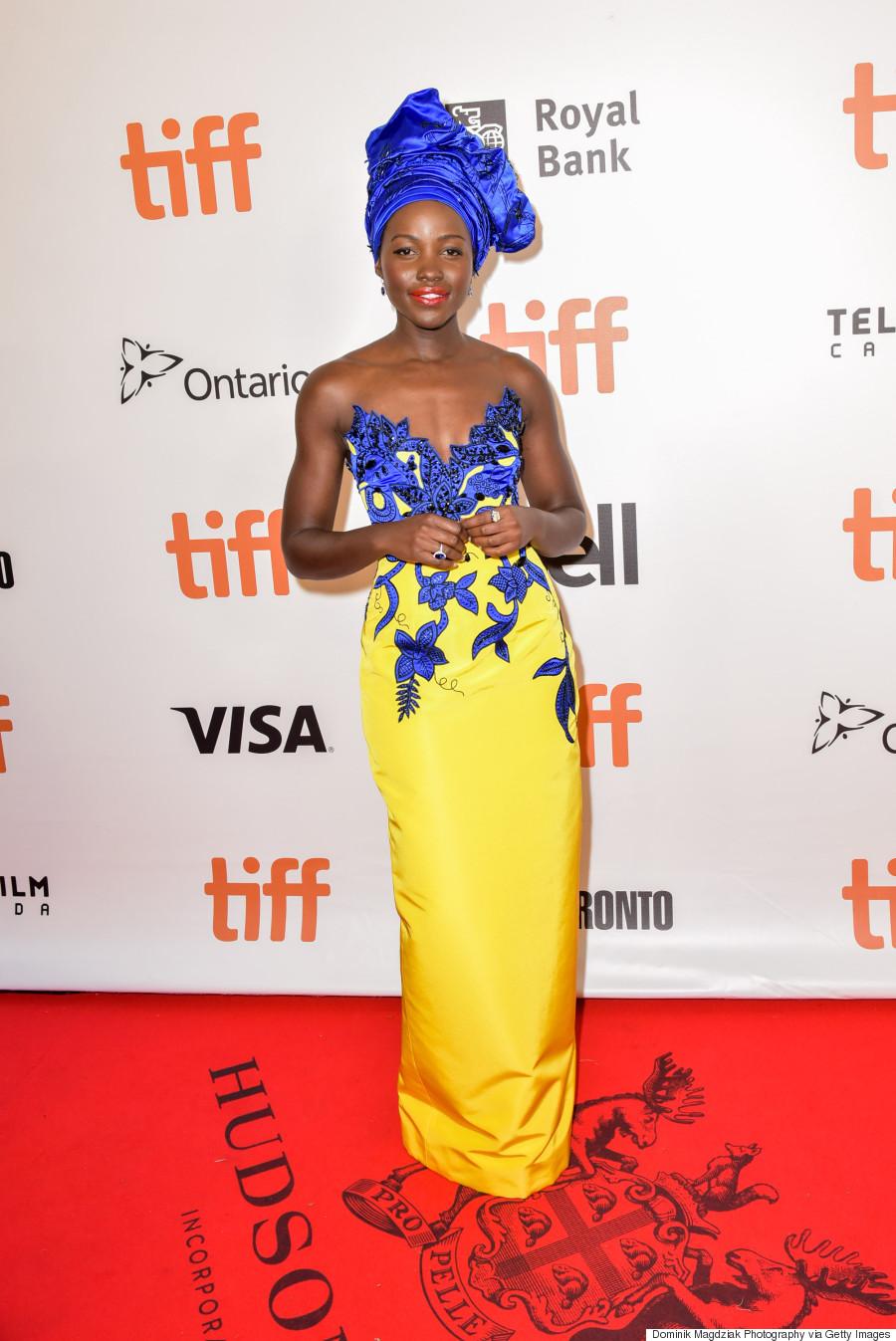 Lupita Nyong'o At Toronto Premiere of 12 Years a Slave