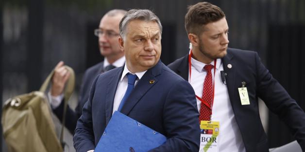 Ungarns Premierminister Viktor Orban bei einem Nato-Treffen in Polen