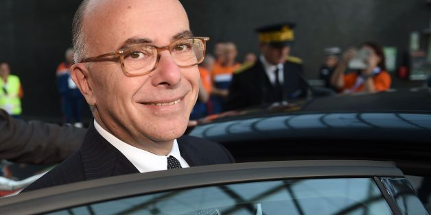 French Interior Minister Bernard Cazeneuve looks on as he leaves the national congress of the Civil Protection in Chateauroux, Central France, on September 10, 2016. / AFP / GUILLAUME SOUVANT        (Photo credit should read GUILLAUME SOUVANT/AFP/Getty Images)