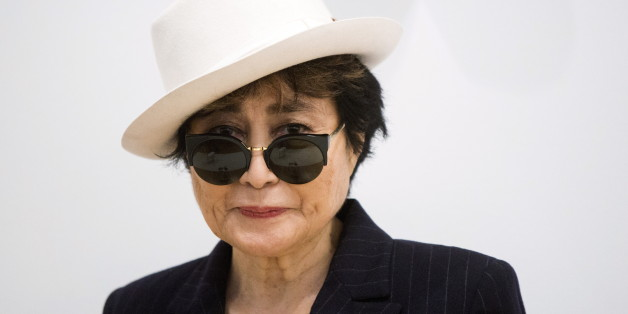 """Artist Yoko Ono she stands in the exhibit """"Half-A-Room"""" at the Museum of Modern Art exhibition dedicated exclusively to her work, titled """"Yoko Ono: One Woman Show, 1960–1971"""",  in New York May 12, 2015.  REUTERS/Lucas Jackson"""