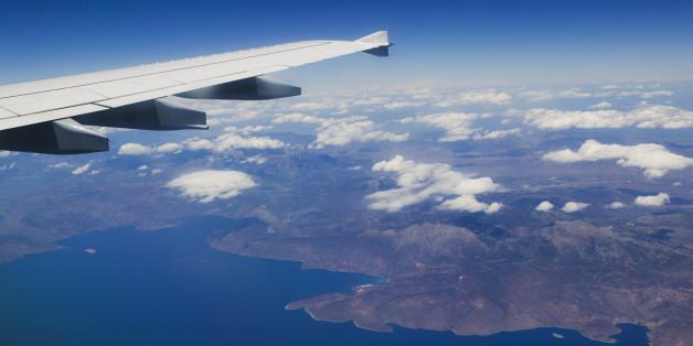 Airliner, Western Crete, Crete, Greece