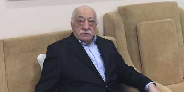 Turkish cleric and opponent to the Erdogan regime Fethullah Gülen adresses at his residence in Saylorsburg, Pennsylvania on July 18, 2016 allegations by the Turkish government about his involvement in the attempted July 15 coup.The US-based cleric was accused by Ankara of orchestrating Friday's military coup attempt but he firmly denied involvement, also condemning the action 'in the strongest terms'. / AFP / Thomas URBAIN        (Photo credit should read THOMAS URBAIN/AFP/Getty Images)