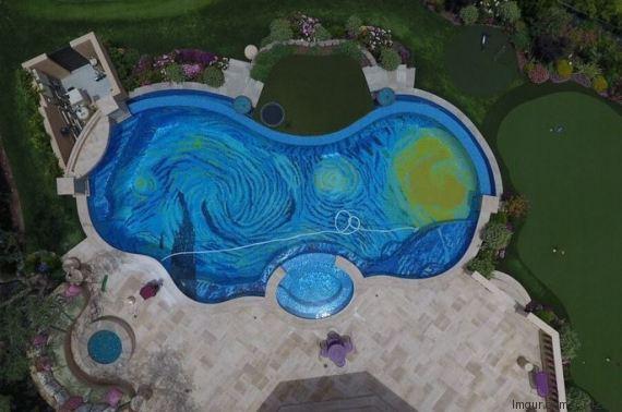 piscine van gogh