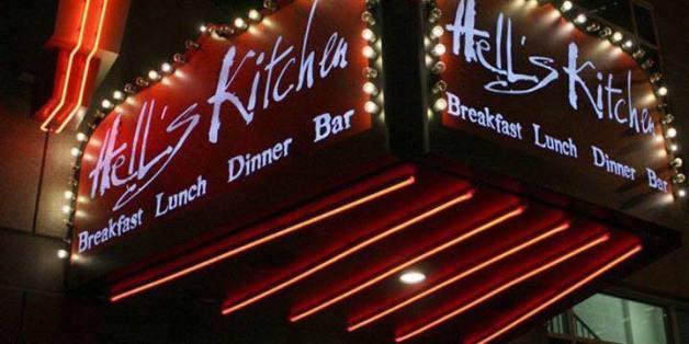 """Das Restaurant """"Hell's Kitchen"""" in Minneapolis in den Vereinigten Staaten von Amerika."""