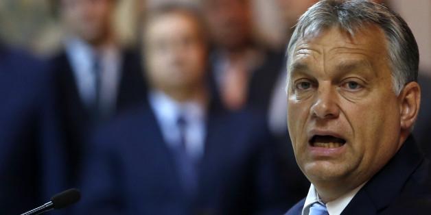 """Der ungarische Ministerpräsident Viktor Orban will eine """"Einwanderungspolitik der Selbstverteidigung"""" für die EU fordern"""