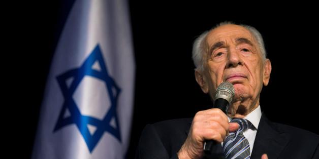 Israels Ex-Präsident Schimon Peres erleidet Schlaganfall