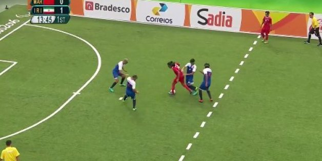 Jeux paralympiques: L'incroyable but marqué par l'Iran face au Maroc en Cécifoot
