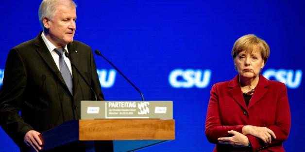 Kanzlerin Angela Merkel und CDU-Chef Horst Seehofer