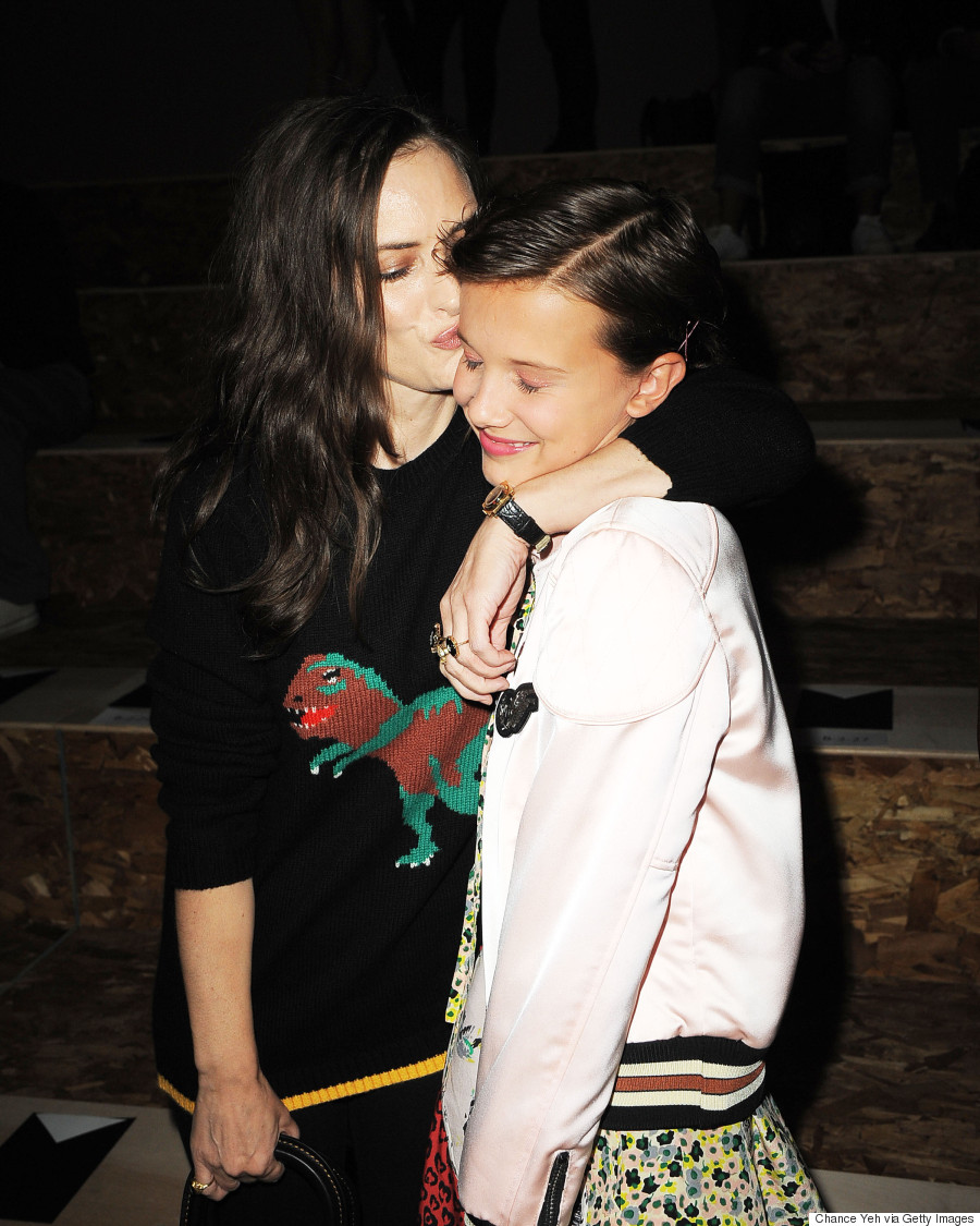 millie bobby brown winona ryder