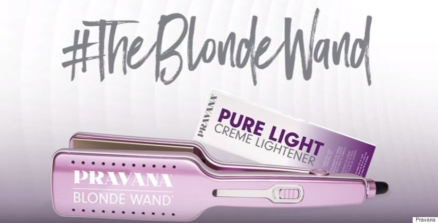 the blonde wand