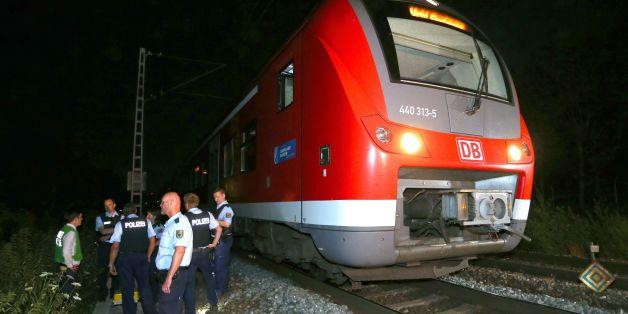 In diesem Nahverkehrszug bei Würzburg verletzte ein IS-Attentäter mehrer Menschen teils schwer
