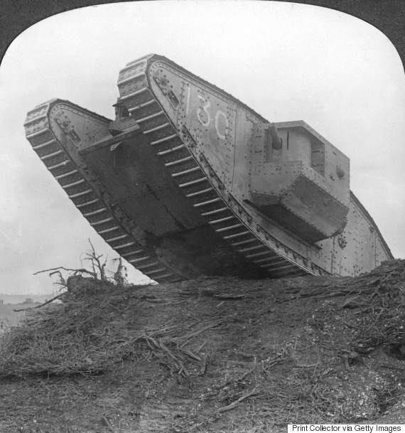 battle of somme tank