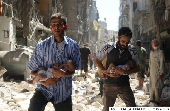 シリア・アレッポ停戦 「これで...