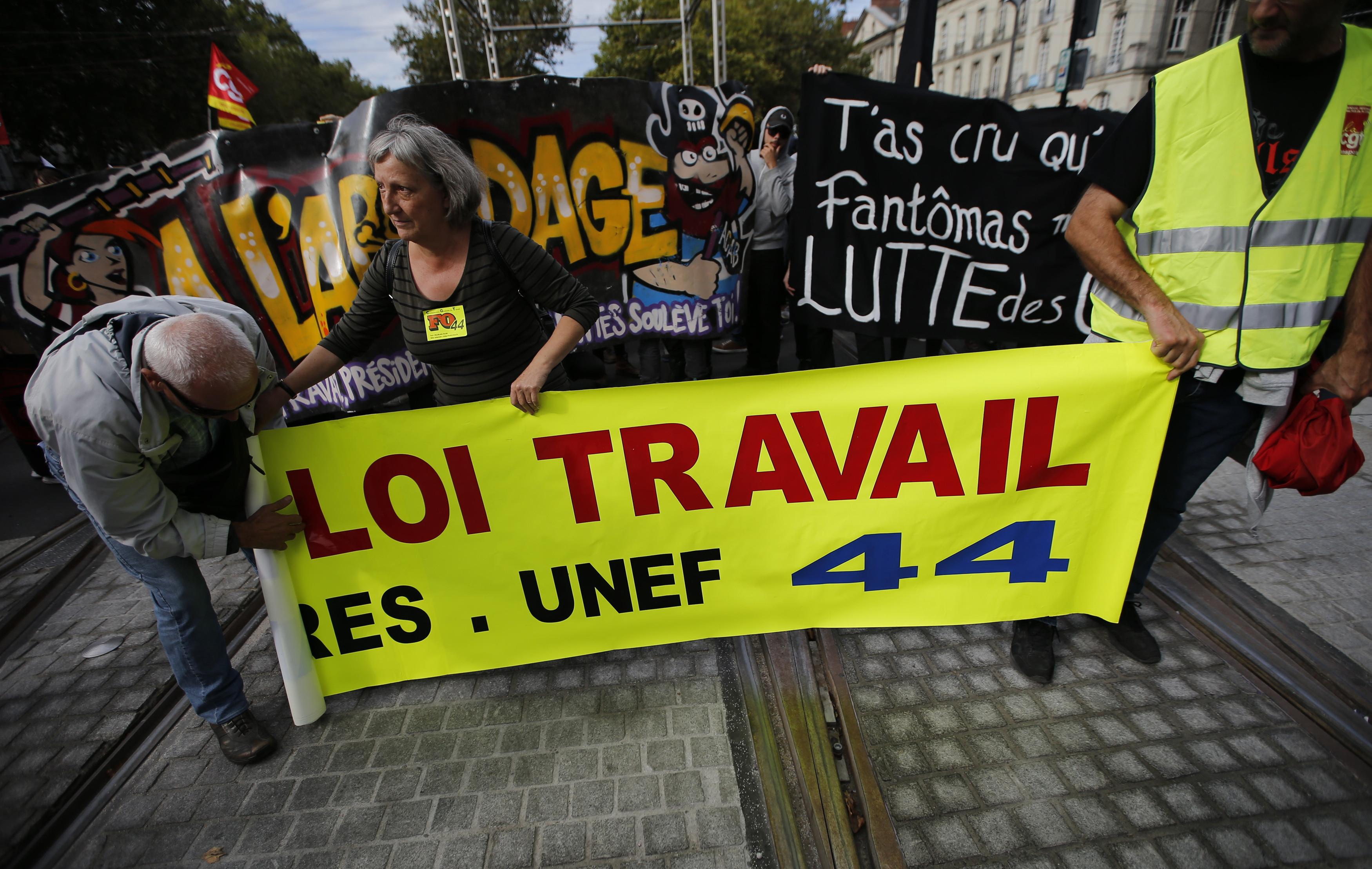 france demonstrations