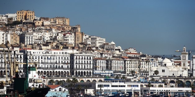 A general view taken on June 5, 2014 shows the Grand Mosque (R) situated on the promenade along the Bay of Algiers with the old town of the Algerian capital known as the 'Kasbah' in the background. Algerian authorities plan to redevelop the Bay of Algiers by 2030 with numerous renovation and expansion projects.  AFP PHOTO/ FAROUK BATICHE        (Photo credit should read FAROUK BATICHE/AFP/Getty Images)