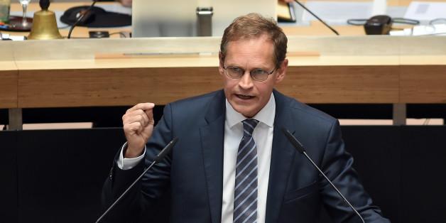 Vor der Abgeordnetenhauswahl warnt Michael Müller vor der AfD. (Symbolfoto)