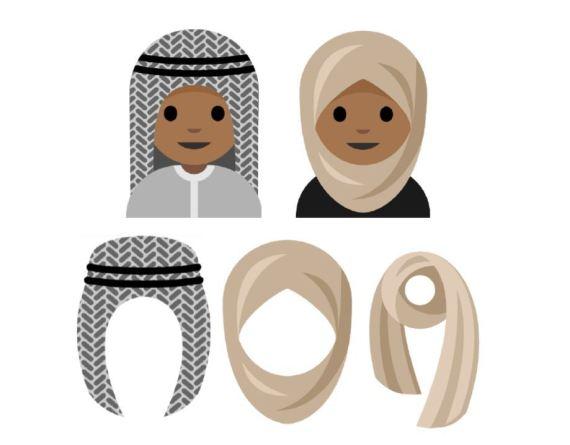 emoji hijab
